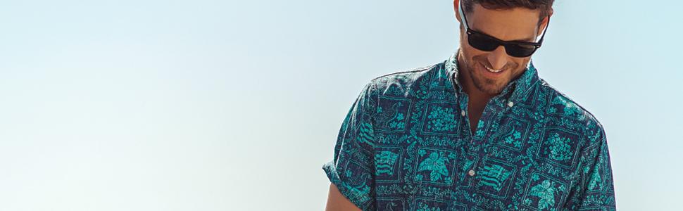 Reyn spooner lahaina sailor hawaiian aloha shirt