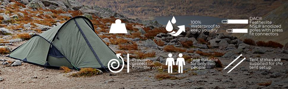 Snugpak Scorpion 2 Tente Expédition Camping Abri