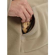 burton fleece warm winter soft cozy pullover