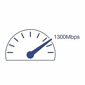 Powerline 1300 Adapter, PLC, PLC Adapter, Gigabit port, Homeplug AV2, IEEE 1905.1, IEEE 1901