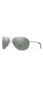 aviator police cop glasses polarized chromapop smith durable metal frames uv protection