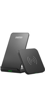CHOETECH Wireless charger 2 pack( stand+pad )