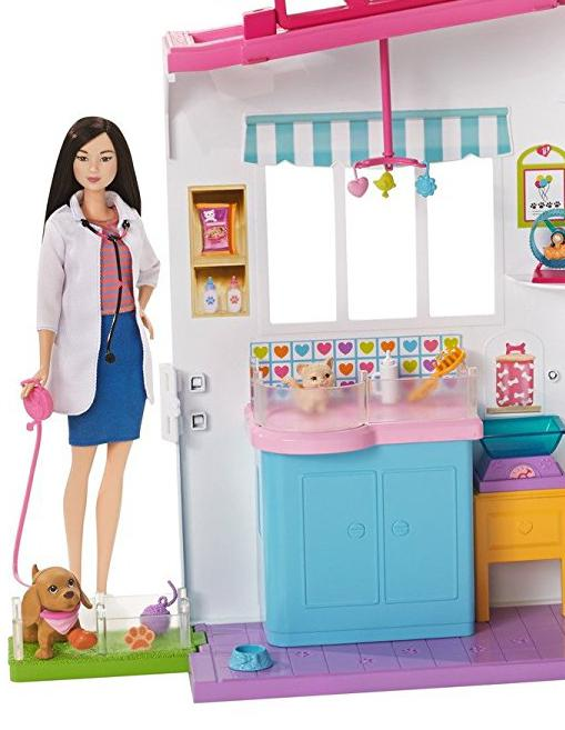 Amazon Com Barbie Pet Care Center Playset Toys Amp Games
