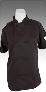 womans cook jacket