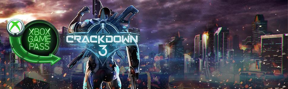 Lançamento Crackdown 3 no Xbox Game Pass, lançamento em 15 de fevereiro