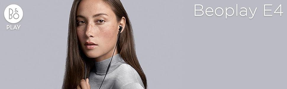 Bang & Olufsen, B&O PLAY, Beoplay, Beoplay E4, earphones, earbuds
