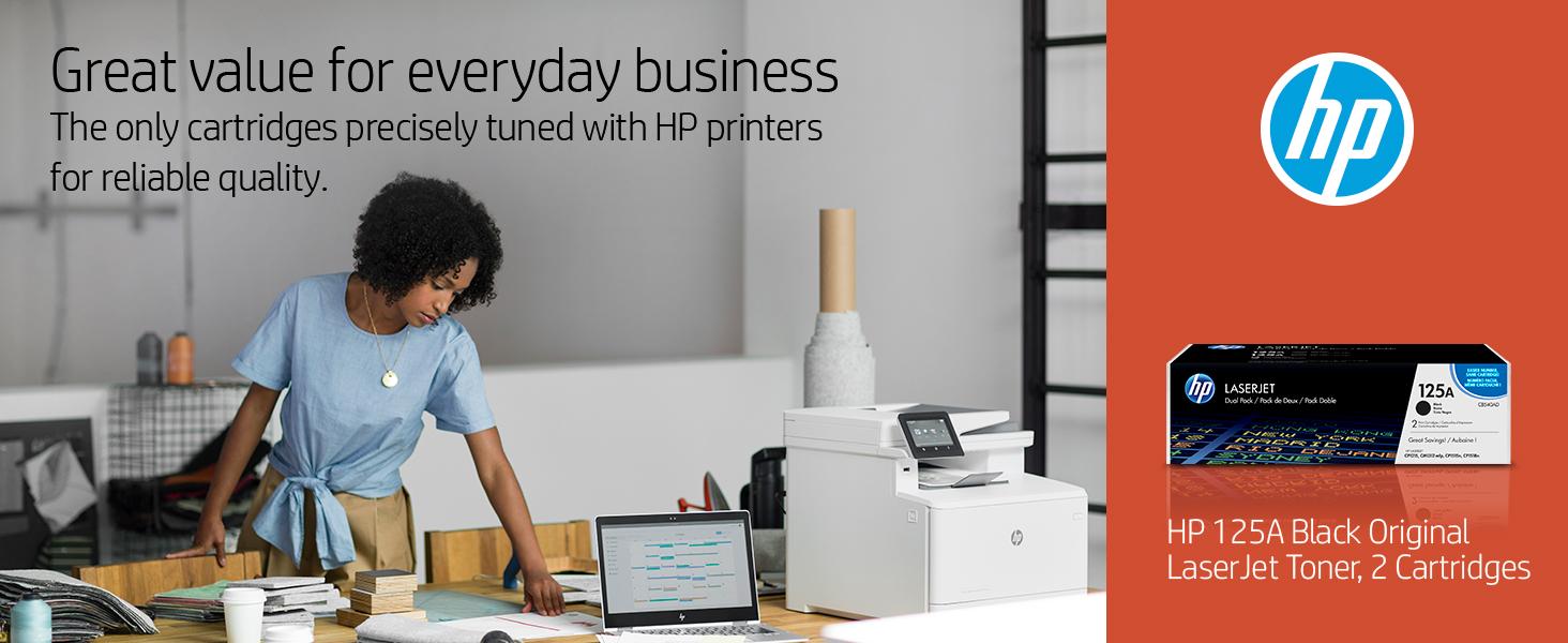 Amazon.com: HP 125 A CB540AD Cartuchos de tóner LaserJet ...
