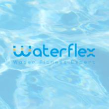 waterflex, velo, eau