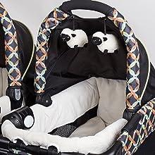 Amazon.com: Cambiador para gemelos Baby Trend, circle tech: Baby