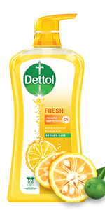 Dettol Body Wash, Fresh