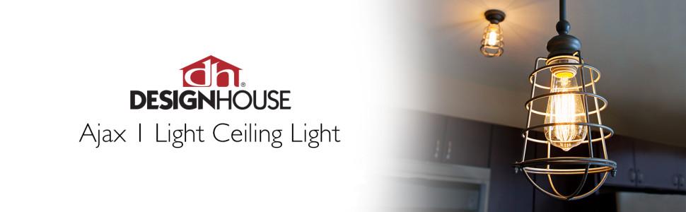 Ajax Light Ceiling Light