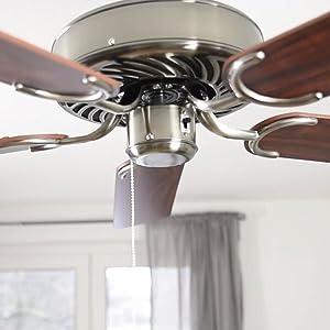 Pepeo GmbH 1334201232_v2 Ventilador de techo con latón