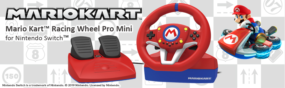 HORI - Volante Mario Kart Pro Mini (Nintendo Switch/PC): Amazon.es ...