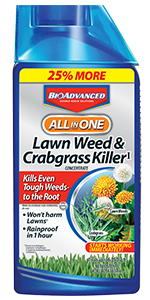All-In-One Lawn Weed & Crabgrass Killer