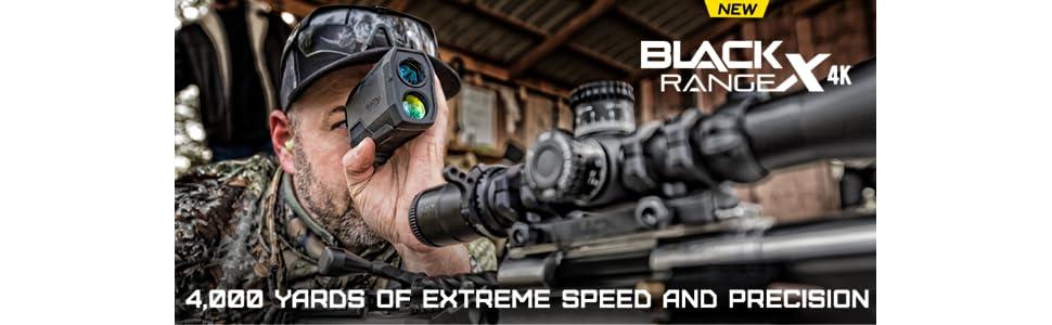 Nikon BLACK RANGEX 4K Rangefinder, longest ranging capability