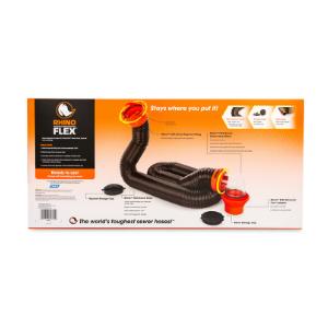 RV sewer hose kit; sewer hose kit; 15 foot RV sewer hose kit