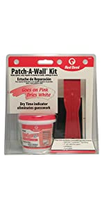 Red Devil 0579 Lighten Up .5 Pint Patch-A-Wall Repair Kit hole drywall