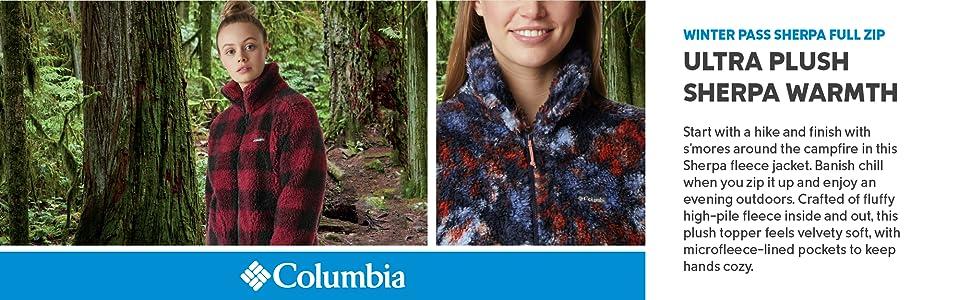 Columbia Women's Winter Pass Sherpa Full Zip Jacket