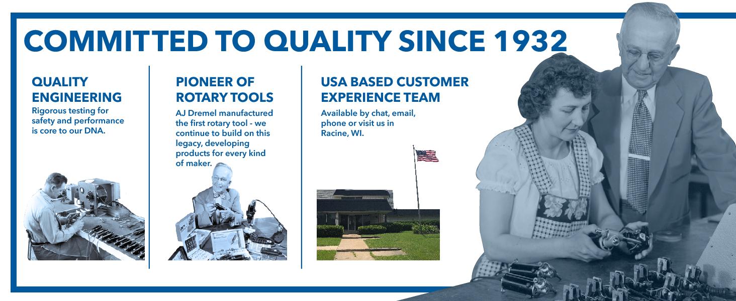 Dremel, Quality, Customer Experience, Service