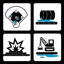 quick dam, quickdam, flood barrier, flood bags, sand bags, sandbag, flood protection, emergency kit