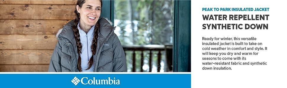 Columbia Women's Peak to Park Insulated Winter Jacket