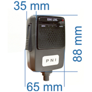 PNI Echo micrófono 4 Pines para Radio CB