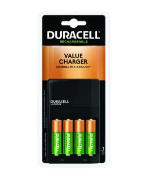 Duracell Ion Speed 1000 NiMH Rechargeable Battery Charger