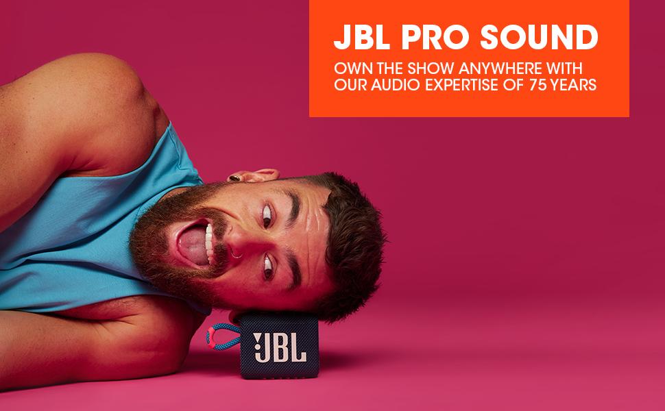 JBL GO3 Pro Sound