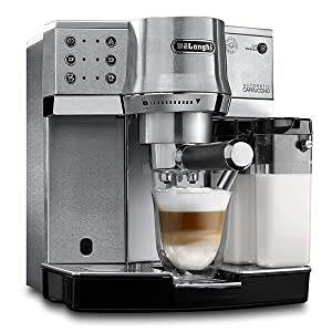 DeLonghi pump coffee machines