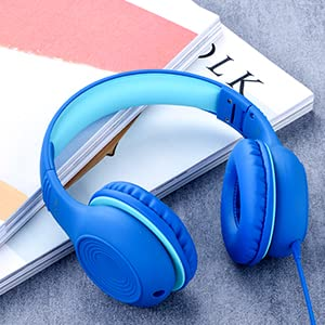 child headphones over ear