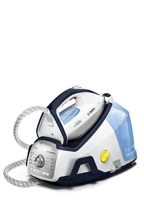 2.400 W Bosch TDS8030ES Serie 8 VarioComfort Centro de planchado 6.8 bares de presi/ón color blanco y gris