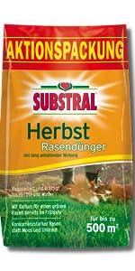SUBSTRAL Herbst Rasendünger