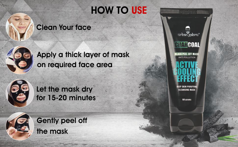peel-off mask for healthy skin