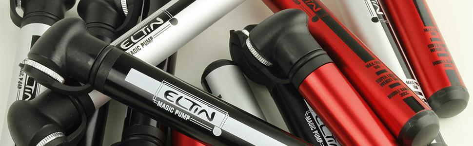 ELTIN Magic Mini Bomba para Ciclismo, Negro: Amazon.es: Deportes y ...