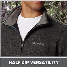 Half Zip Versatilitiy