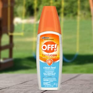OFF! Familycare Clean Feel. Enjoy mosquito protection for the whole family