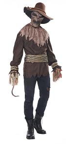 Scarecrow, Men's Costume, Scary, Trick, Creepy, Corn Field, Halloween, Haunted House, Horror