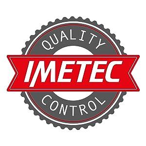 ImetecZ1 2800 ZeroCalc - Ferro da Stiro con Tecnologia Anticalcare, Piastra Ceramica ad Alta Scorrevolezza, Tecnologia a Risparmio Energetico, 2200W, Colpo Vapore, 130 g