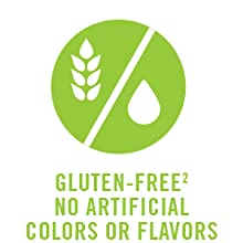 Gluten free artificial colors flavors