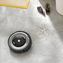 iRobot Roomba e5 system wykrywania zabrudzeń