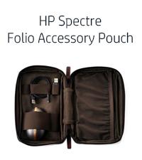 HP laptop accessories, HP Spectre Folio Accessory Pouch
