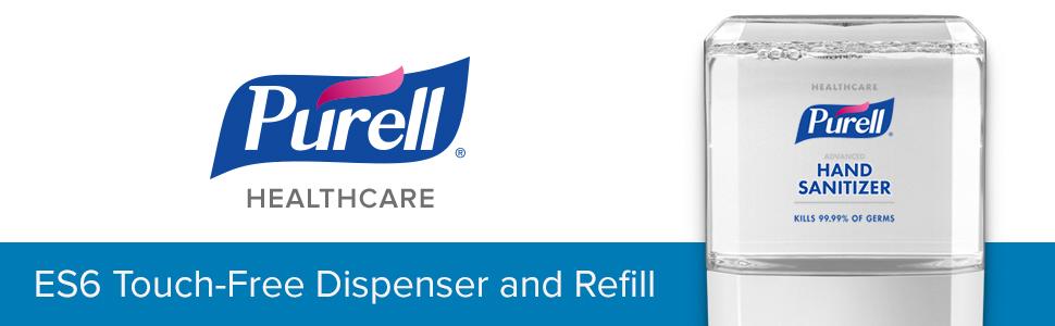 healthcare sanitizer, hospital sanitizer, doctor sanitizer, sanitizer, refill, touch free dispenser