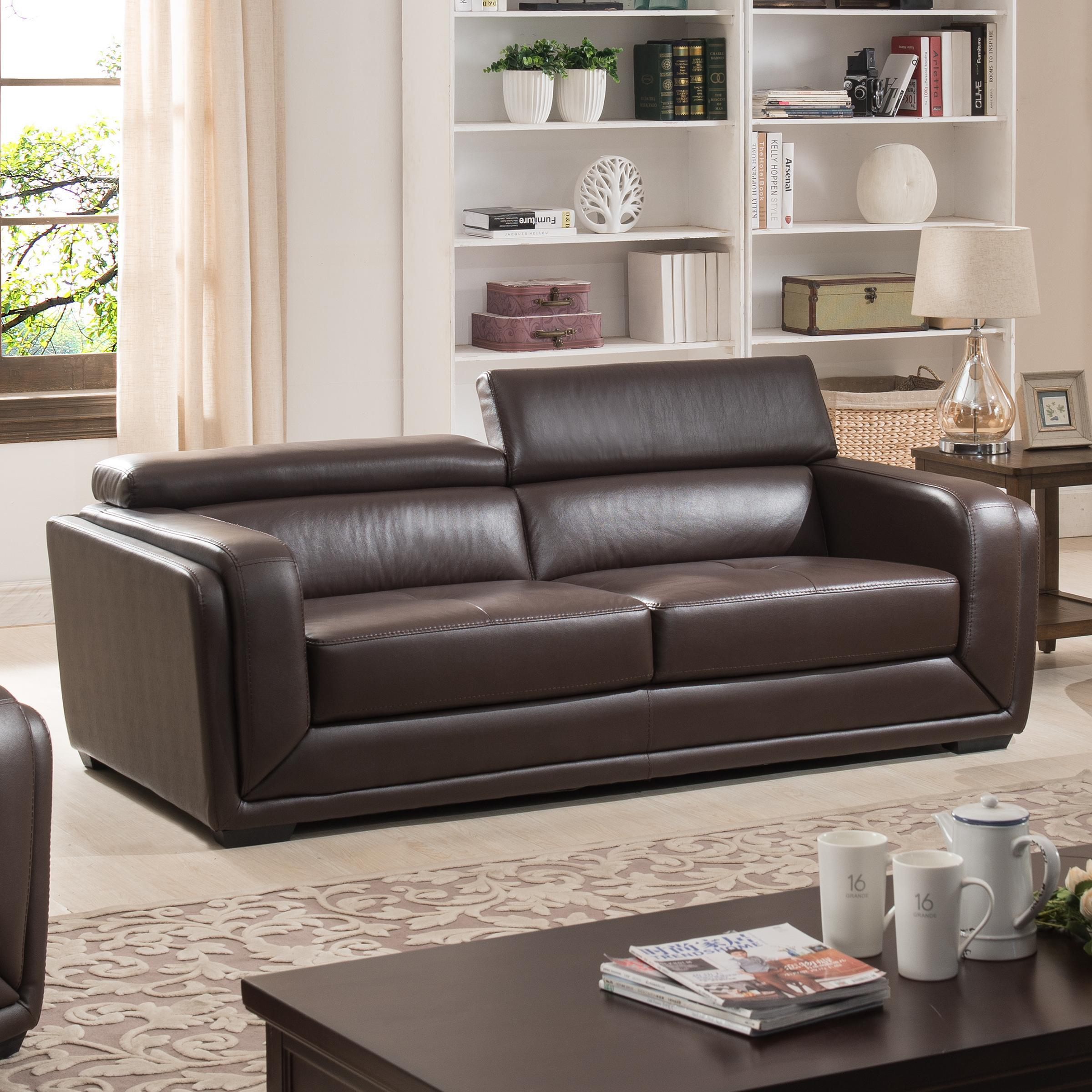 Leather sofa love seat chair · view larger