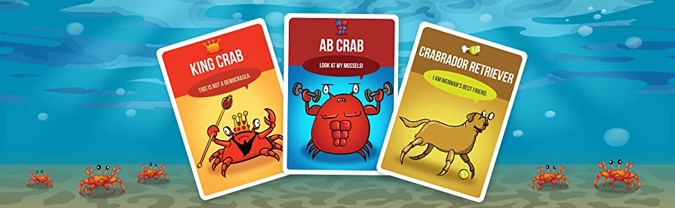 crabs party game