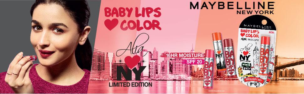 Maybelline New York Baby Lips Alia Loves New York Lip Balm