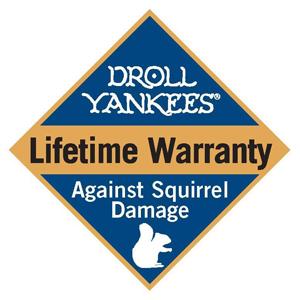 No squirrel damage