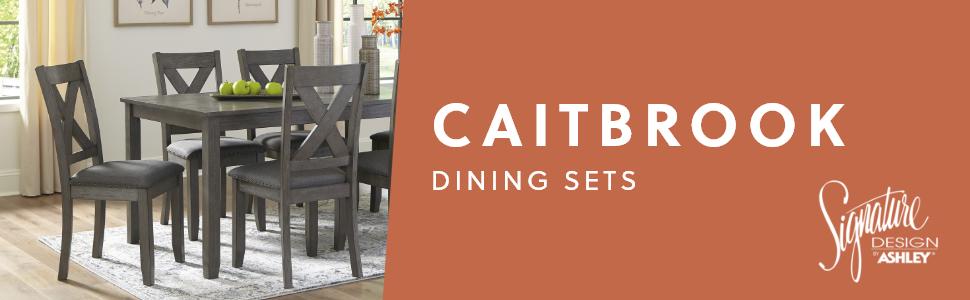 Caitbrook Dining Set Signature Design by Ashley Furniture Room