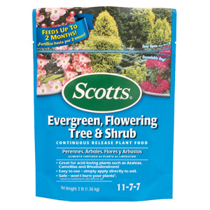 Scotts Evergreen, Flowering Tree & Shrub Continuous Release Plant Food