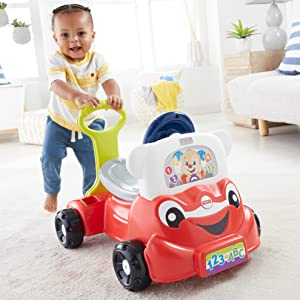 Amazon Com Fisher Price Laugh Amp Learn 3 In 1 Smart Car