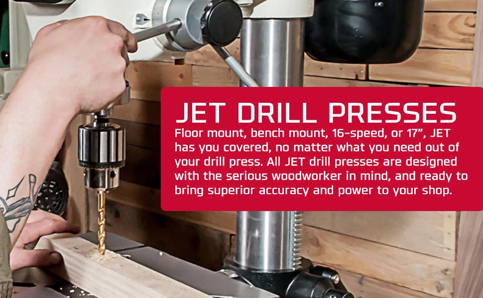 JET Drill Presses Press